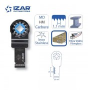 lame outil-multifonctions Starlock Izar carbure 20mm pour inox