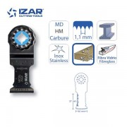 lame outil-multifonctions Starlock Izar carbure 32mm pour inox