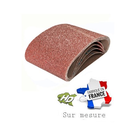 bande abrasive corindon 200x480mm grain 24 à 400
