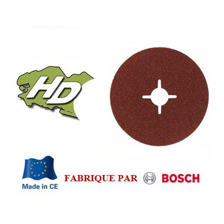 disque fibre Bosch corindon semi raffiné 180mm grain 24 à 120