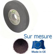 meule corindon grise 175x25x51 mm