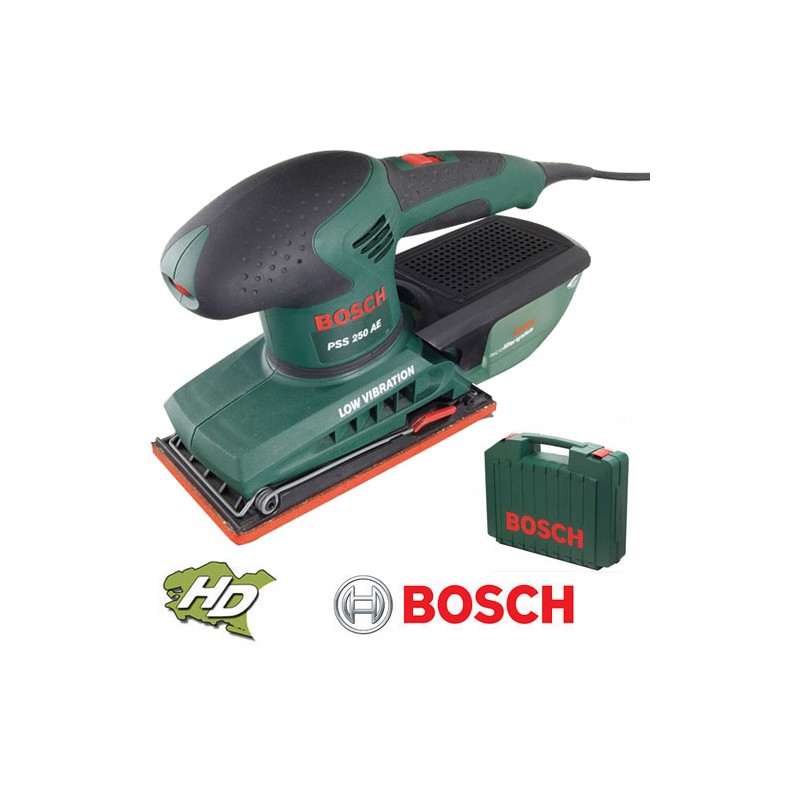 Ponceuse vibrante 250w pss 250ae bosch - Ponceuse vibrante bosch ...