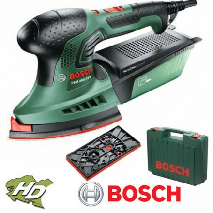 ponceuse multi 200w psm 200ae bosch. Black Bedroom Furniture Sets. Home Design Ideas
