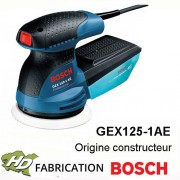 ponceuse professionnelle 250W  GEX125-1AE Bosch