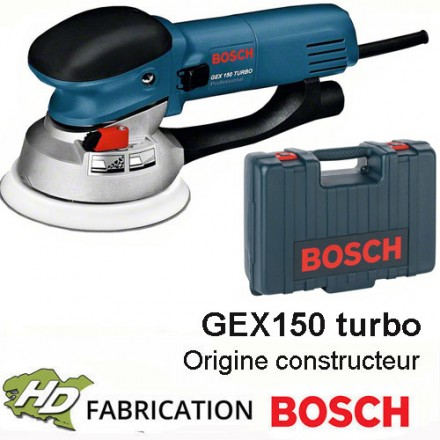 ponceuse professionnelle 600 w gex150 turbo hd outillage. Black Bedroom Furniture Sets. Home Design Ideas