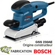 ponceuse vibrante bosch GSS 230 AE