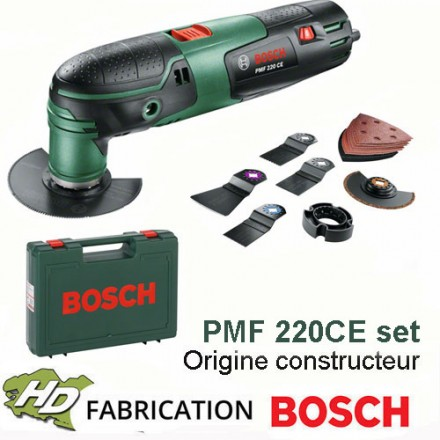 outil multifonction bosch pmf 220ce set 220w hd outillage. Black Bedroom Furniture Sets. Home Design Ideas