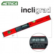 niveau digital inclinomètre Metrica Incligrad L. 60 cm professionnel