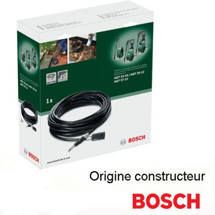 d boucheur de canalisation 10 m pour nettoyeur haute pression aqt bosch hd outillage. Black Bedroom Furniture Sets. Home Design Ideas