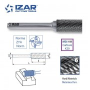 fraise rotative carbure Izar cylindrique ZYA denture 6 de 3 à 25 mm