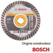 disque diamant turbo 150 mm Bosch